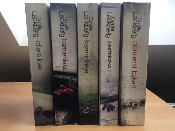 KSIĄŻKI Saga Kryminalna 1-5 Camilla Lackberg