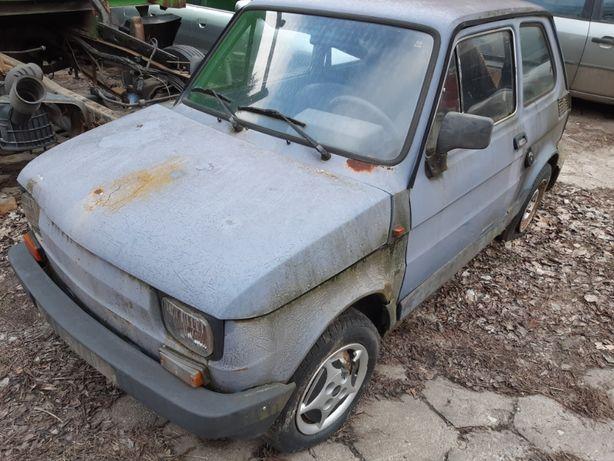 Fiat 126p Maluch r.1988 Cały na części, wszystkie części.