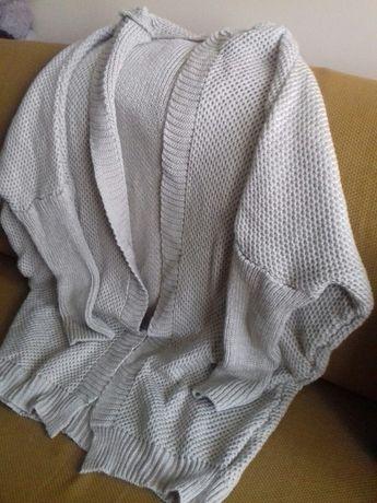 Sweter kardigan narzutka kaptur rozmiar od s-xl