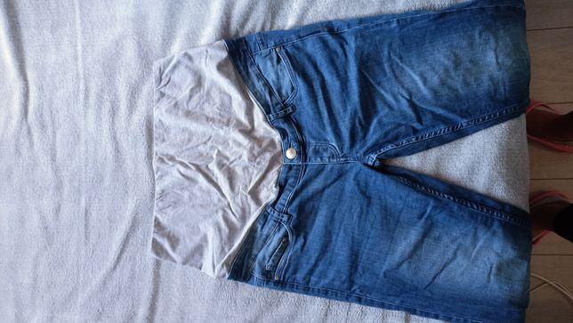 Spodnie ciążowe jeansowe