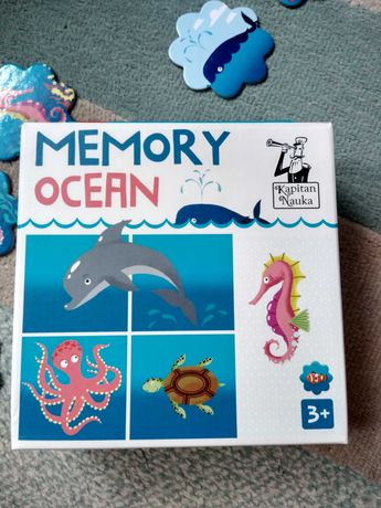 Puzzle Memory Ocean nowe