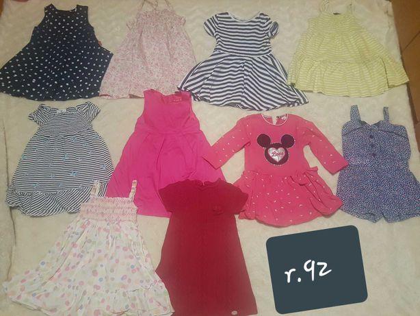 Sukienki dla dziewczynki r.92