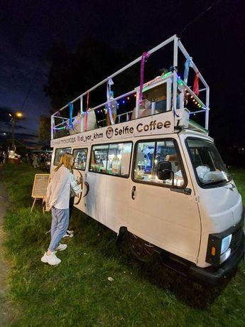 Мобильная кофейня на колесах, фудтрак, готовий бизнес, кав'ярня