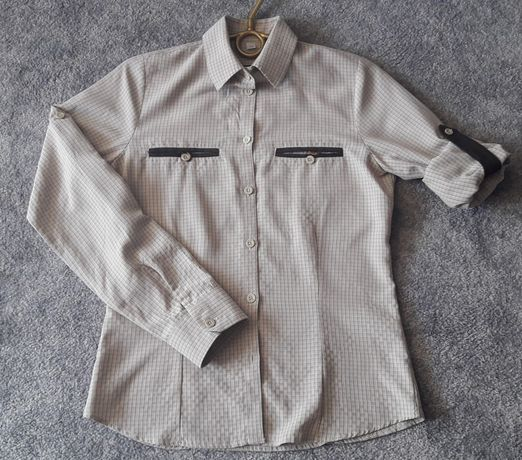 Koszula damska TAGART Lena 34 myśliwska w kratkę