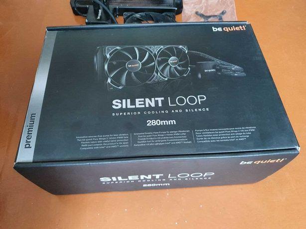 Водяное охлаждение процессора Be quiet Silent Loop 280mm