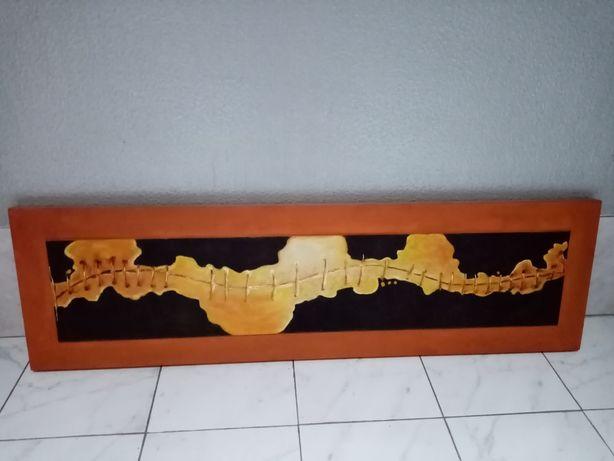 Óleo sobre Tela, quadro original Título Pull Thread 1,40 X 40 cm