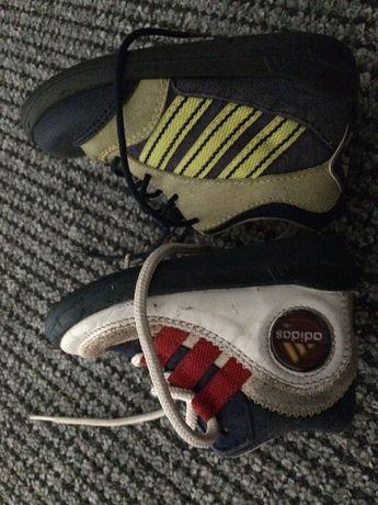 Adidasy vintage buciki adidaski Adidas trzy paski dziecięce buciki