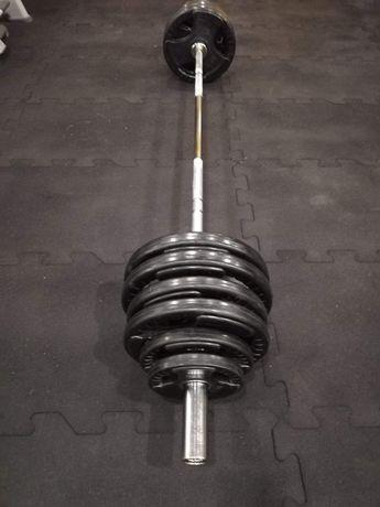 Nowe Obciążenie olimpijskie 100 kg.plus sztanga olimpijska.