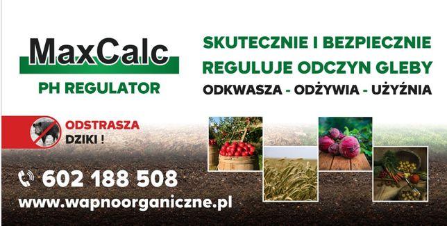 wapno organiczne pod kukurydzę , szybka regulacja pH, anty dzik