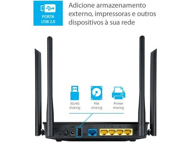 Router ASUS AC1200 Dual Band Gigabit RT-AC1200GU