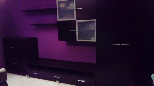 Komplet mebli BRW reset wenge komoda, szafa, półki, pod TV gratis!
