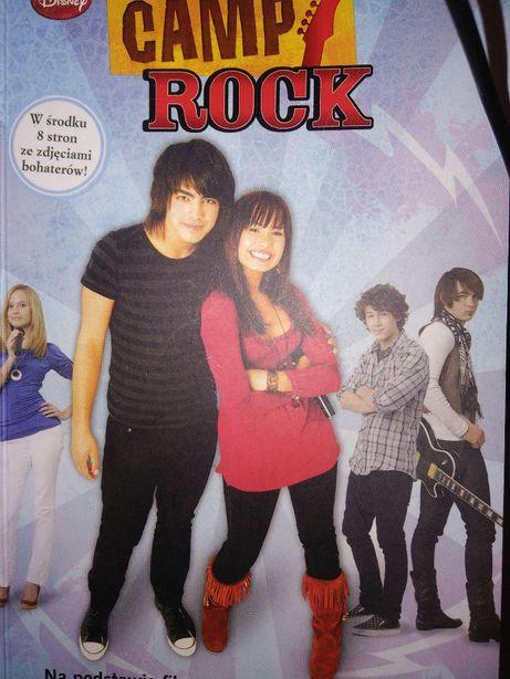 Camp Rock Disney książka