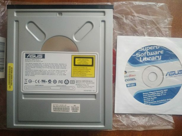 Пишущий DVD-RW SATA-привод ASUS DRW-2014L1T