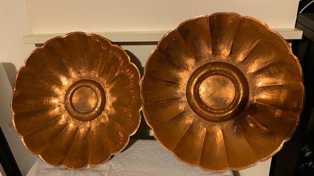 Taças em cobre