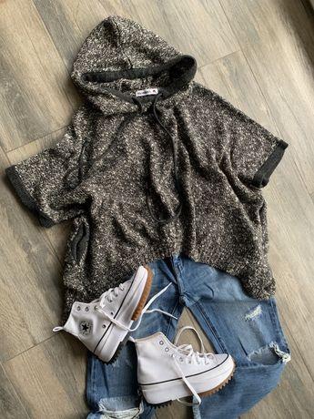 Monnari jak nowy sweter ponczo cudo S-m