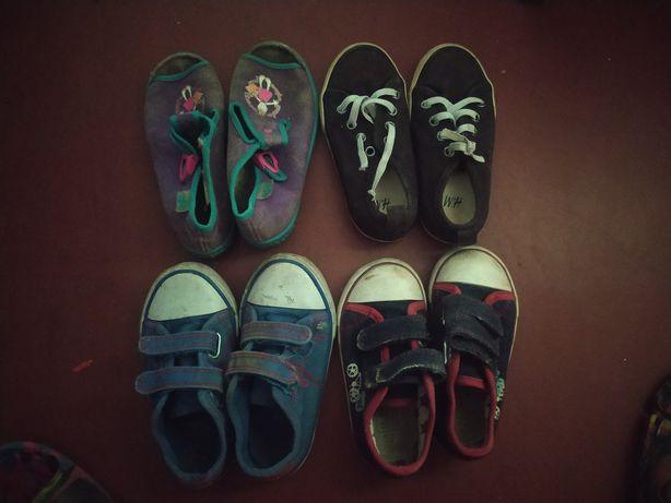 Обувь на мальчика тапочки кеды