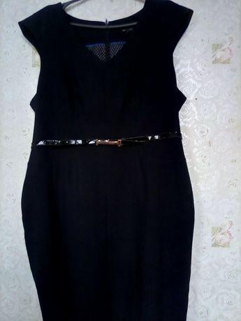 Платье. Стиль  офисный черный классика