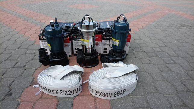 Pompa do brudnej wody szamba z rozdrabniaczem