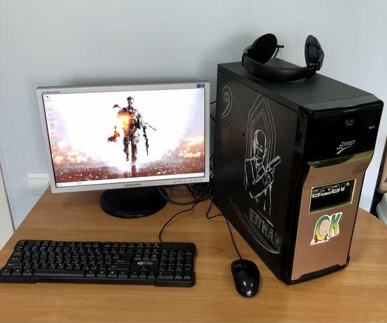 Компьютер в сборе, Монитор и Системный блок