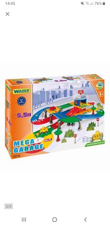 Wader Kid Cars 3D Garaż z Trasą 5,5m