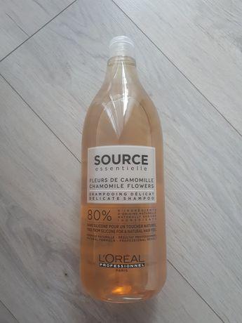 Loreal duży 1500 ml szampon source naturalny eco bio