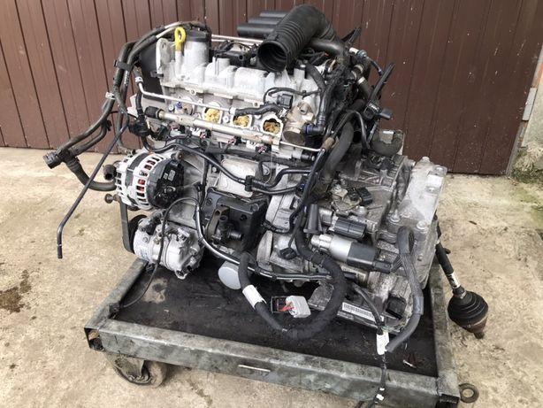 Мотор 1.4 TSI CZT VW Jetta двигатель джетта тси тсі шрот разборка 2016