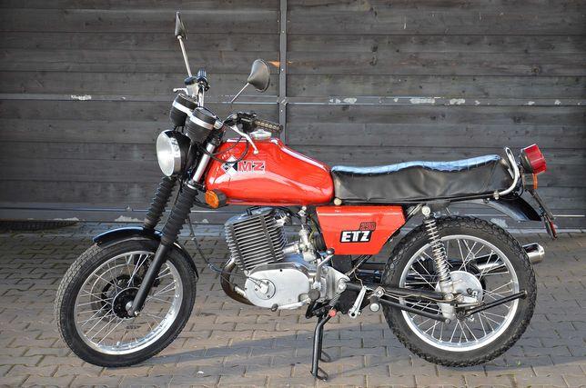 MZ ETZ 250 De Luxe z 1987r. z Dowodem rejestracyjnym
