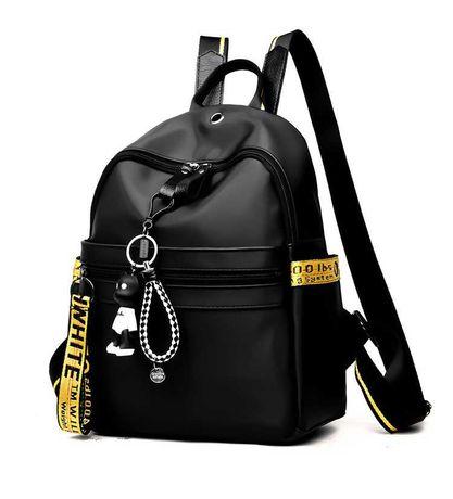 Стильний жіночий рюкзак чорний / женский рюкзак черный/ сумка/ порфель