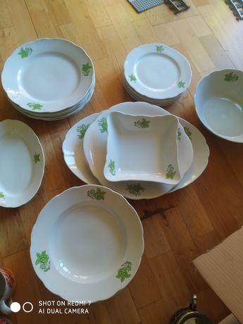 Zastawa obiadowa porcelana ćmielów prl