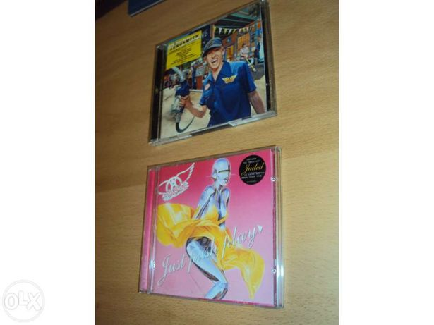 Aerosmith - CDs - estão novos!
