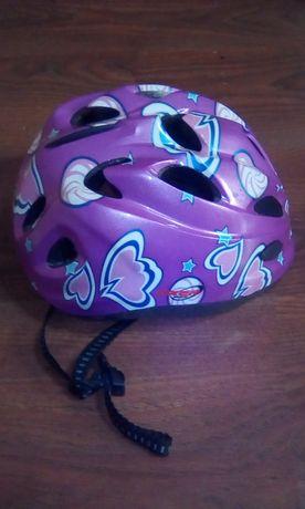 Kask dla dziewczynki na rower  uniwersalny