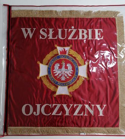 sztandar strażacki kompletny PROMOCJA WAKACYJNA