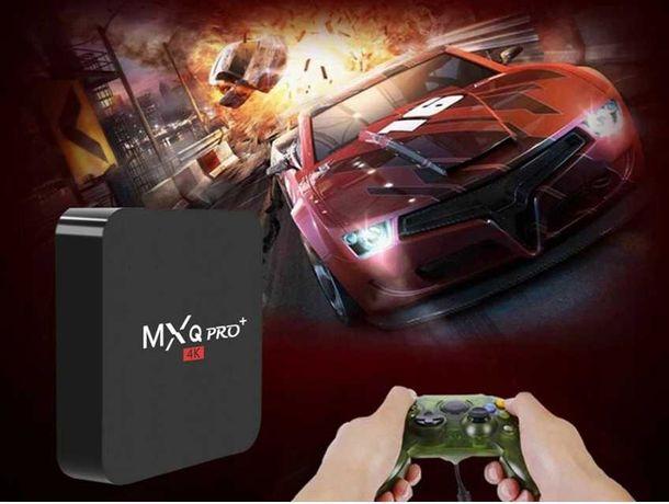 Tv Box MXQ PRO+ 4k Android 7,1 pl + pilot