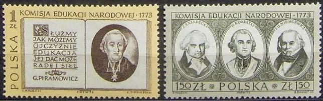 Znaczki polskie 1973-74 stan** całe serie