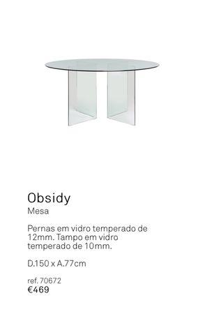 Oportunidade - Mesa Area store Obsidy