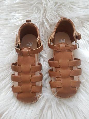 Sandałki HM   brązowe