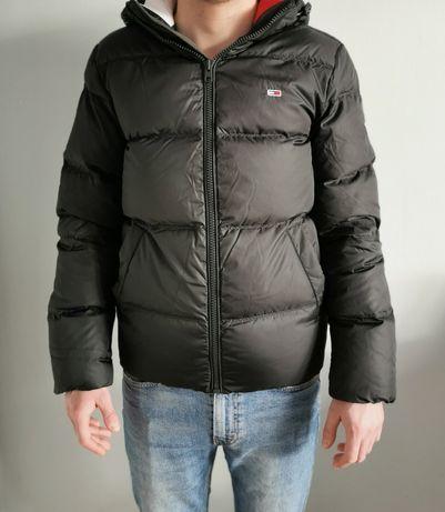 Nowa męska zimowa puchowa kurtka Tommy Hilfiger rozmiar S