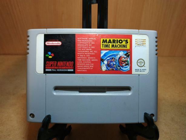 Nintendo - Gra Mario Marios Time Machine - Snes Super Nintendo