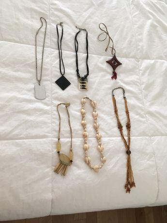 Lote de colares