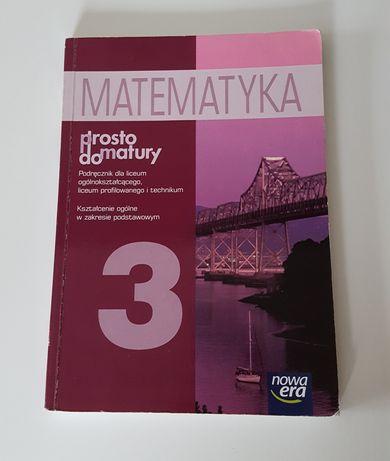 Matematyka 3 Prosto do matury * Nowa era * 2013 * wydanie IX ***
