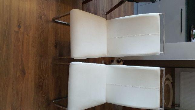 Krzesło białe - 2 szt jadalnia lub salon