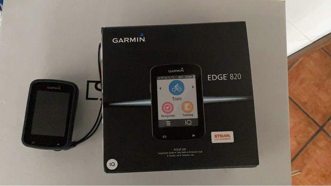 Garmin edge 820 como novo