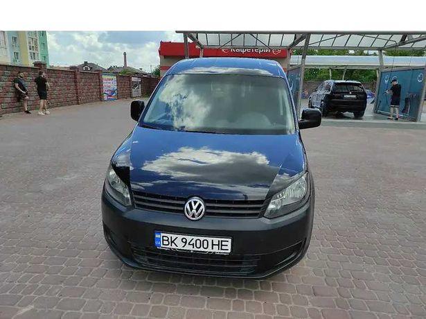 Volkswagen Caddy пассажир чёрный