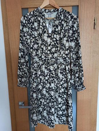 Wzorzysta sukienka H&M NOWA