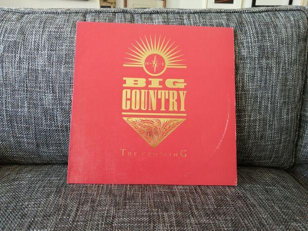 Big Country - The Crossing (LP/Capa vermelha)