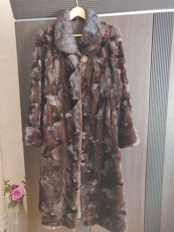 Норкова шуба , куртка норка писец полушубок