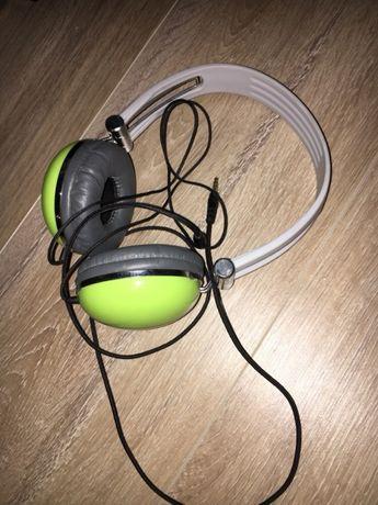 Słuchawki nauszne 4world zielone