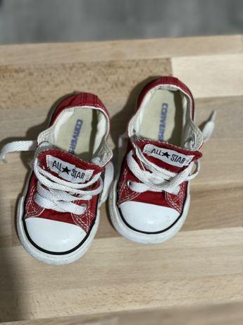Кеды кроссовки конверсы converse детские размер 21 по стельке 12,5