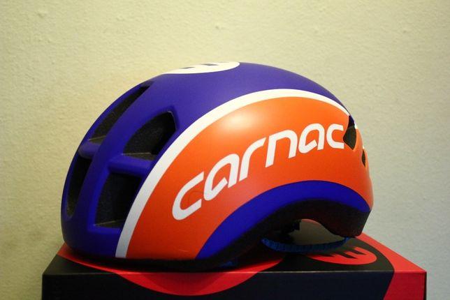 kask szosowy CARNAC triathlon roz 56-58 M OKAZJA carbon karbon NOWY!