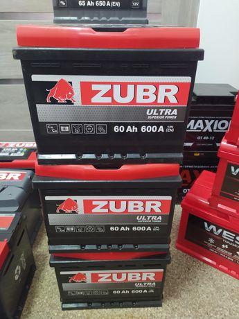 Акумулятор, аккумулятор Exide ZUBR Зубр 60Ah 600A 55.62.